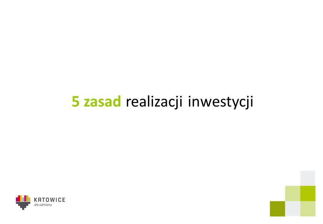 5 zasad realizacji inwestycji