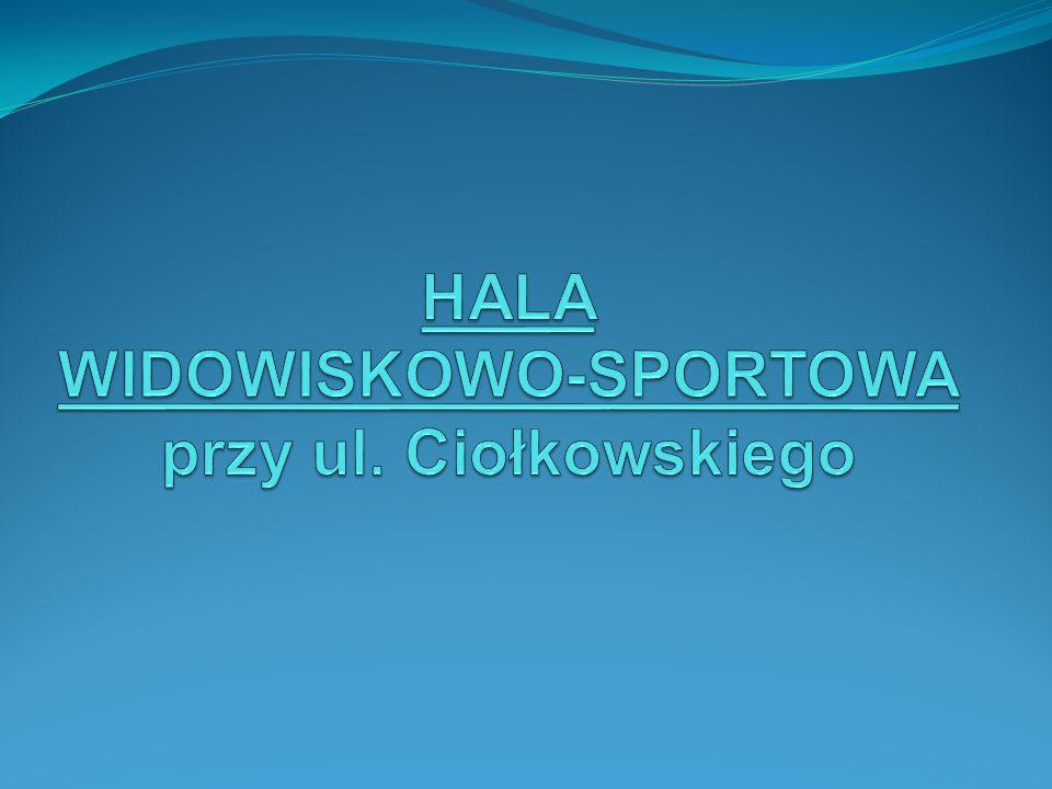 Przeznaczenie: -funkcje sportowe i widowiskowe z zapleczem (m.in.