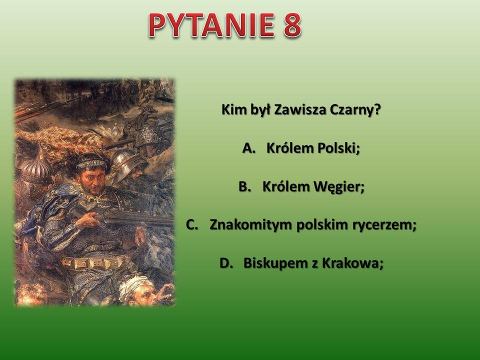 Co przedstawia ilustracja A.Godło państwowe B.Herb rycerski C.Pieczęć królewską