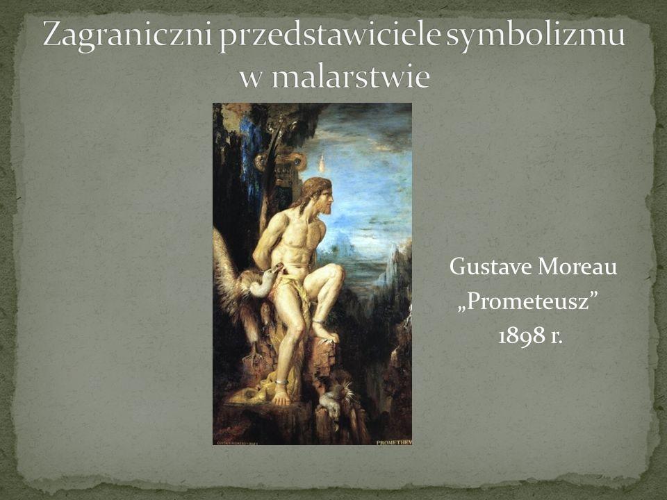 """Gustave Moreau """"Prometeusz 1898 r."""