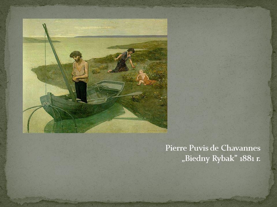 "Pierre Puvis de Chavannes ""Biedny Rybak 1881 r."