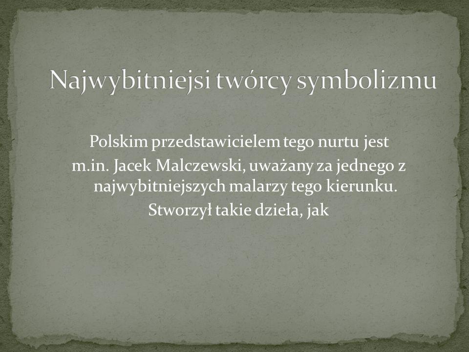 Polskim przedstawicielem tego nurtu jest m.in.