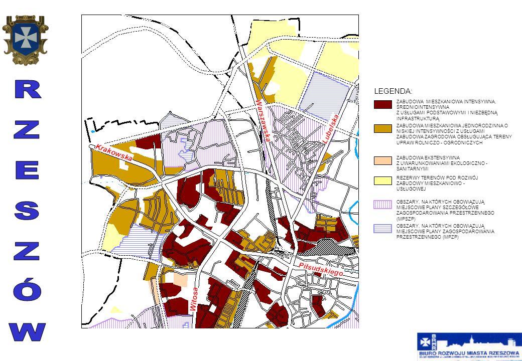 Przedmiotem ustaleń planu jest przeznaczenie terenu pod usługi nauki i szkolnictwa wyższego, pod usługi komercyjne, pod drogę publiczną, pod zabudowę mieszkaniową z usługami nieuciążliwymi, pod zieleń z elementami komunikacji, oraz pod urządzenia infrastruktury elektroenergetycznej LXXI/79/2002 z dnia 21 maja 2002 r.