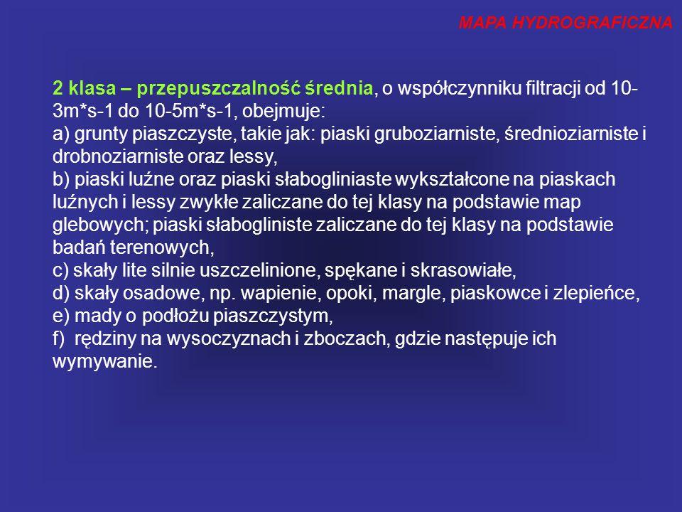 MAPA HYDROGRAFICZNA Stan obecny pokrycia mapą hydrograficzna w Polsce wg. GUGiK