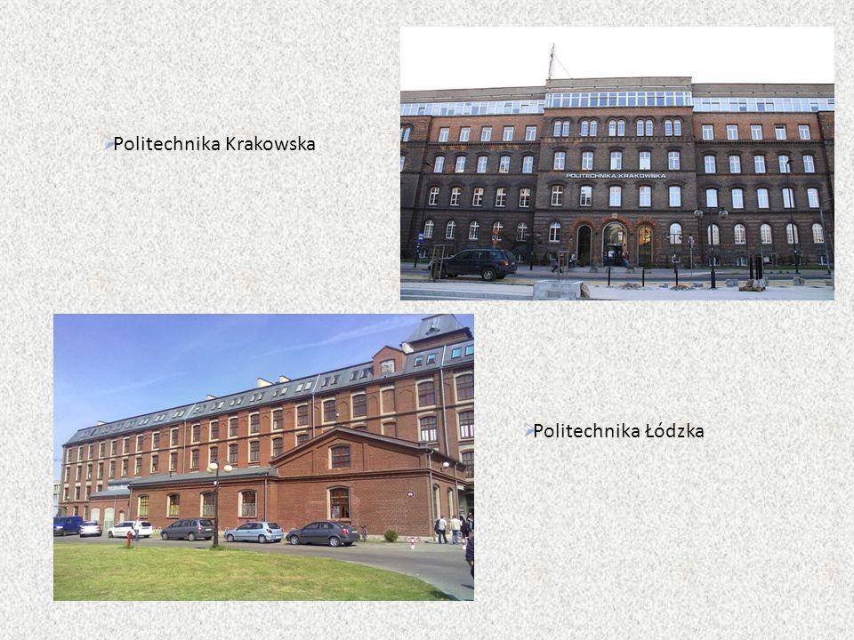 Politechnika Krakowska  Politechnika Łódzka