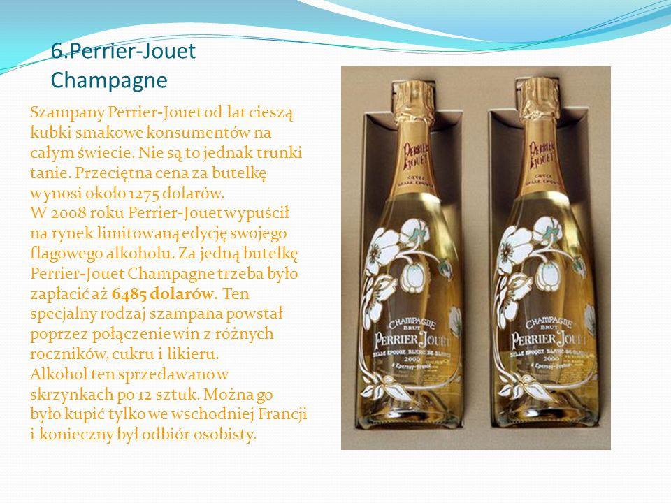 6.Perrier-Jouet Champagne Szampany Perrier-Jouet od lat cieszą kubki smakowe konsumentów na całym świecie.