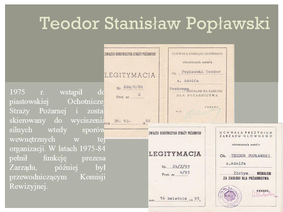 Teodor Stanis ł aw Pop ł awski 1975 r.