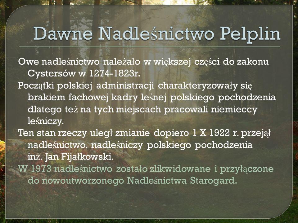 Owe nadle ś nictwo nale ż a ł o w wi ę kszej cz ęś ci do zakonu Cystersów w 1274-1823r.