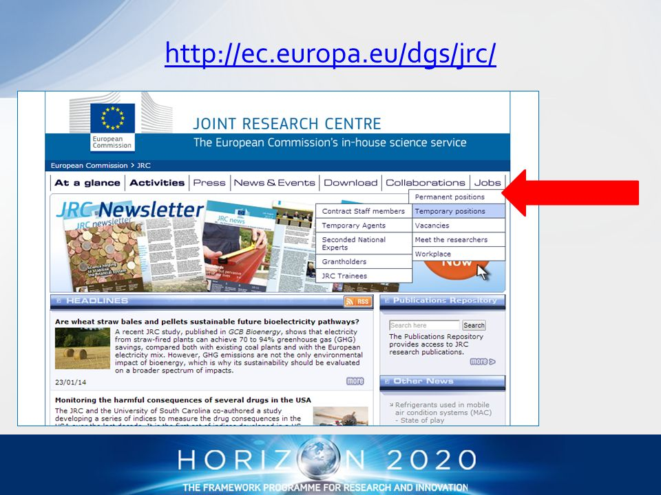 http://ec.europa.eu/dgs/jrc/