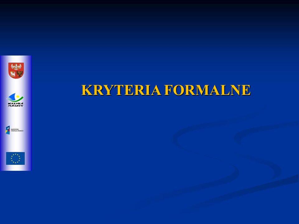 Kryteria merytoryczne zerojedynkowe 3.