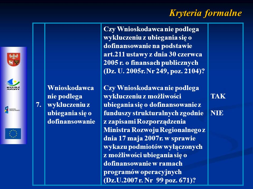 Kryteria merytoryczne punktowe LPKRYTERIUM SKALA PUNKTOWA WAGAOPIS KRYTERIUM 1.