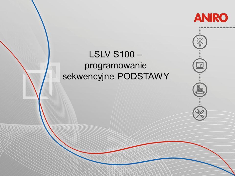 LSLV S100 – programowanie sekwencyjne PODSTAWY