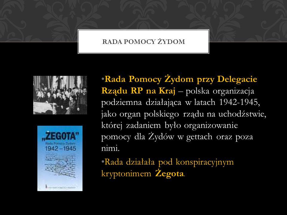 Rada Pomocy Żydom przy Delegacie Rządu RP na Kraj – polska organizacja podziemna działająca w latach 1942-1945, jako organ polskiego rządu na uchodźstwie, której zadaniem było organizowanie pomocy dla Żydów w gettach oraz poza nimi.