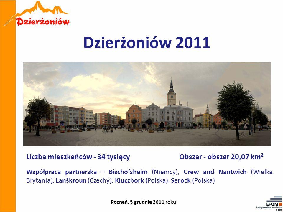 Dzierżoniów 2011 Współpraca partnerska – Bischofsheim (Niemcy), Crew and Nantwich (Wielka Brytania), Lanškroun (Czechy), Kluczbork (Polska), Serock (P
