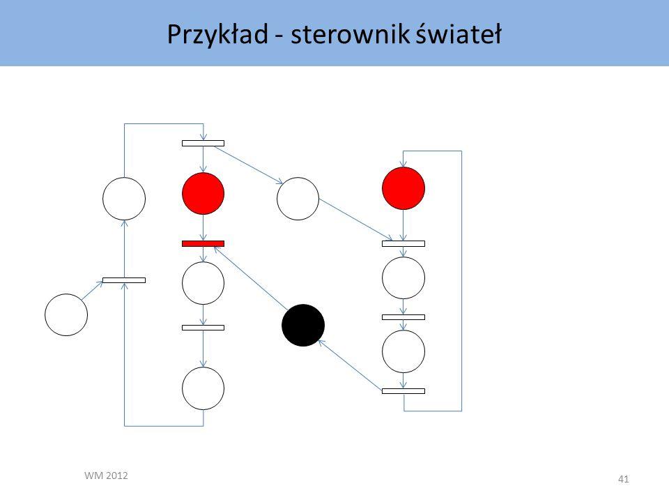 Przykład - sterownik świateł WM 2012 41