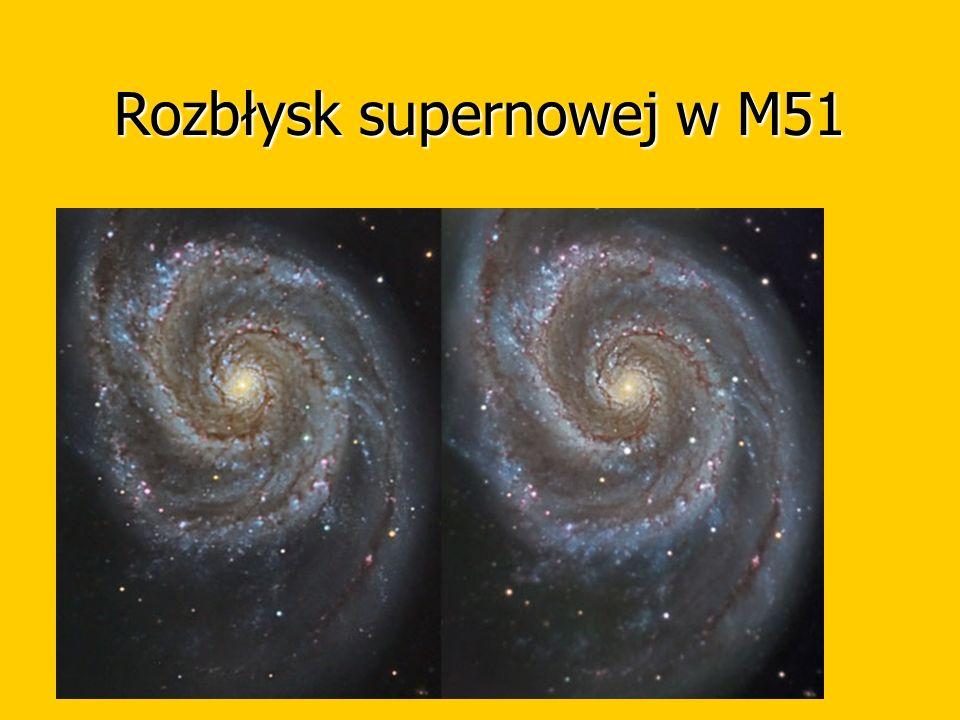 Rozbłysk supernowej w M51