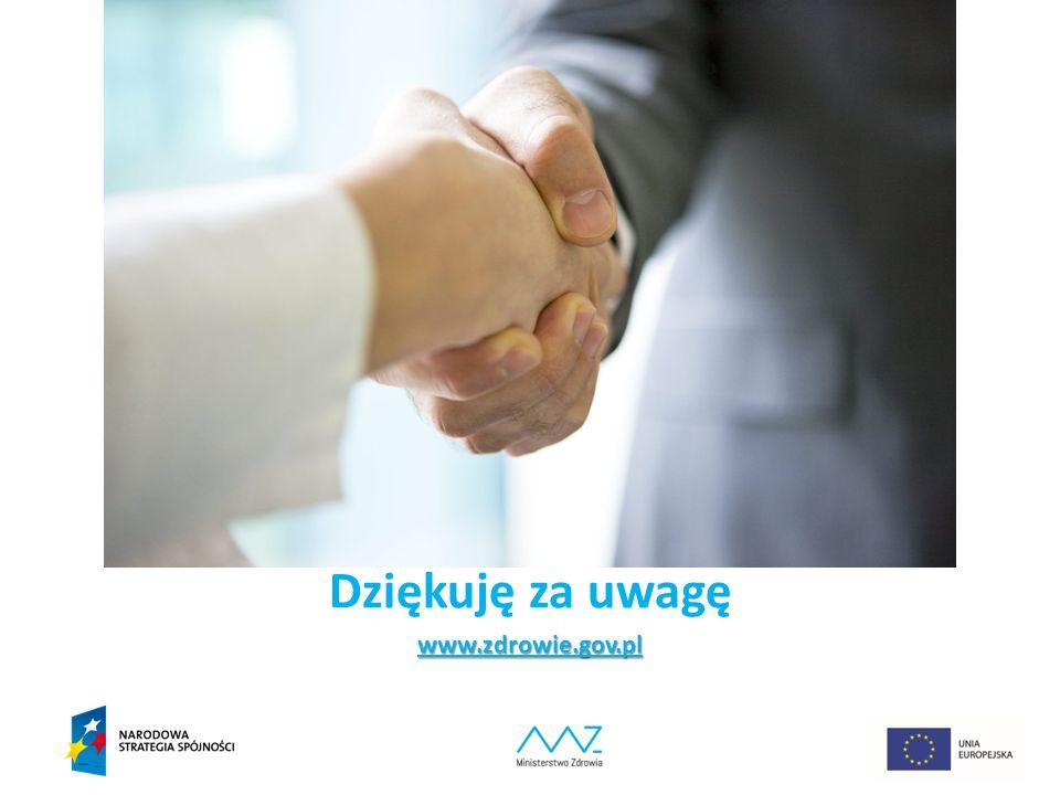 Dziękuję za uwagęwww.zdrowie.gov.pl 21