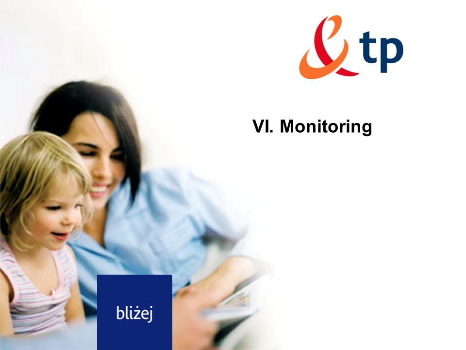 20 Dotyczy: debaty o częstotliwościach Rozdział VI. Monitoring