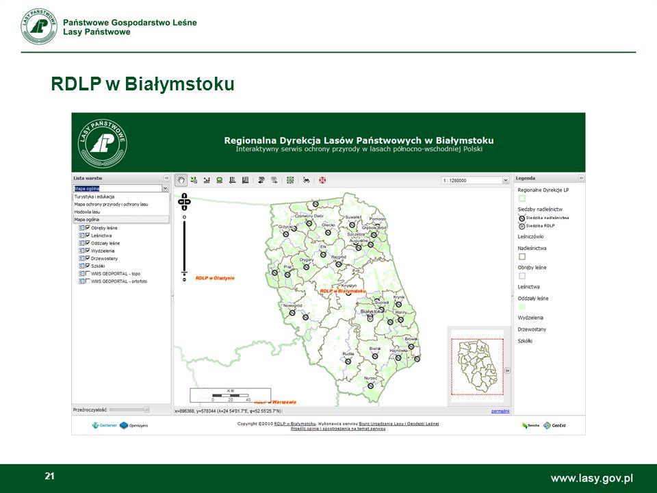 21 RDLP w Białymstoku