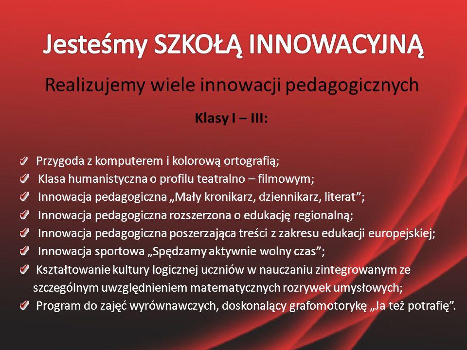 """Rządowy program """" RADOSNA SZKOŁA"""