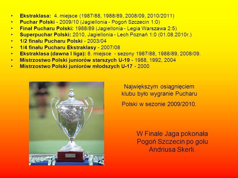 Ekstraklasa: 4.