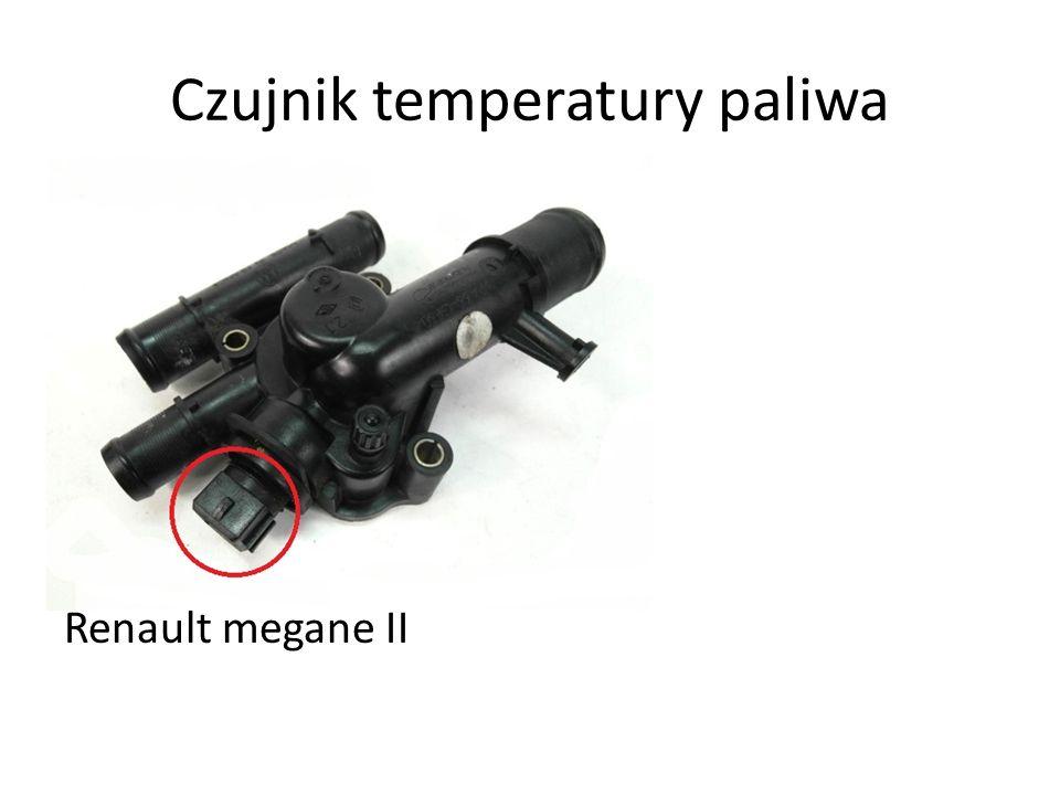 Czujnik temperatury paliwa Renault megane II