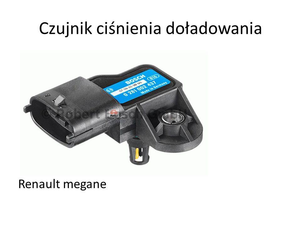 Czujnik ciśnienia doładowania Renault megane