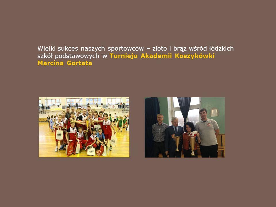 Wielki sukces naszych sportowców – złoto i brąz wśród łódzkich szkół podstawowych w Turnieju Akademii Koszykówki Marcina Gortata