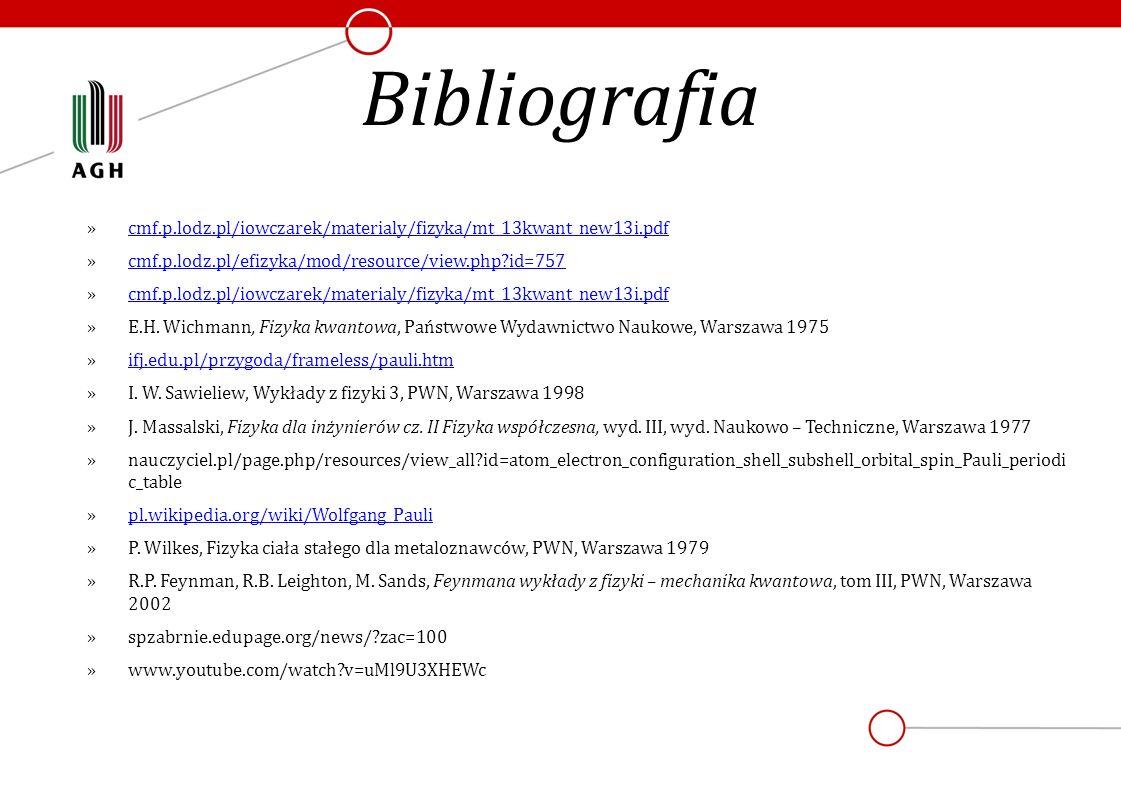 Bibliografia »cmf.p.lodz.pl/iowczarek/materialy/fizyka/mt_13kwant_new13i.pdfcmf.p.lodz.pl/iowczarek/materialy/fizyka/mt_13kwant_new13i.pdf »cmf.p.lodz