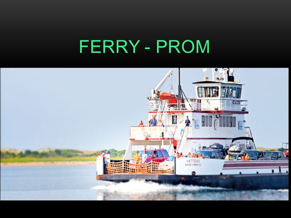 FERRY - PROM