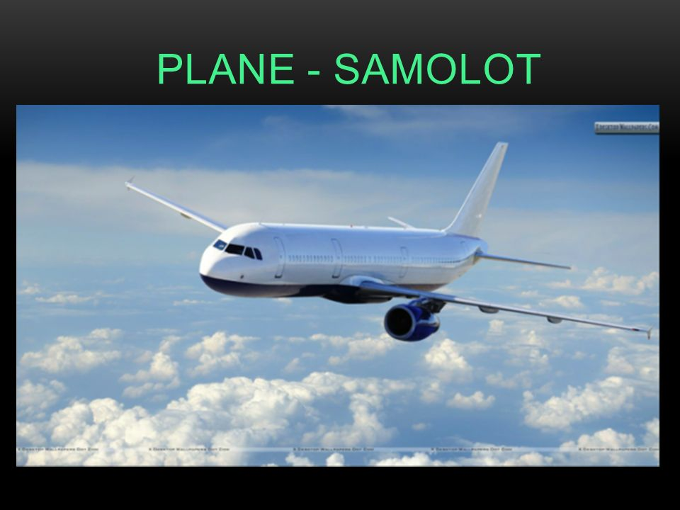 PLANE - SAMOLOT