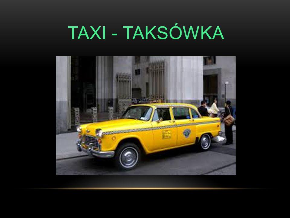 TAXI - TAKSÓWKA