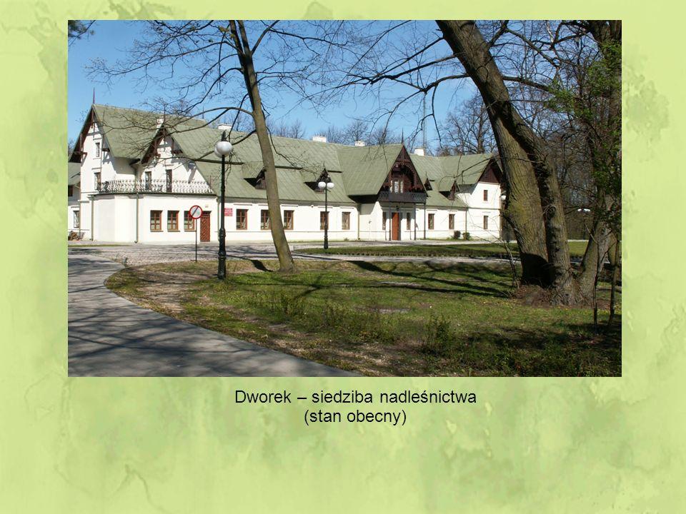 Dworek – siedziba nadleśnictwa (stan obecny)
