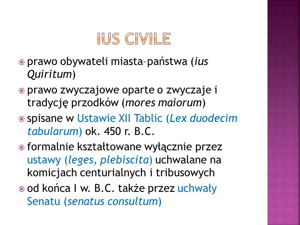  prawo pretorskie (urzędnicze) mające na celu dostosowanie ius civile do potrzeb praktyki  kształtujące się od 367 r.