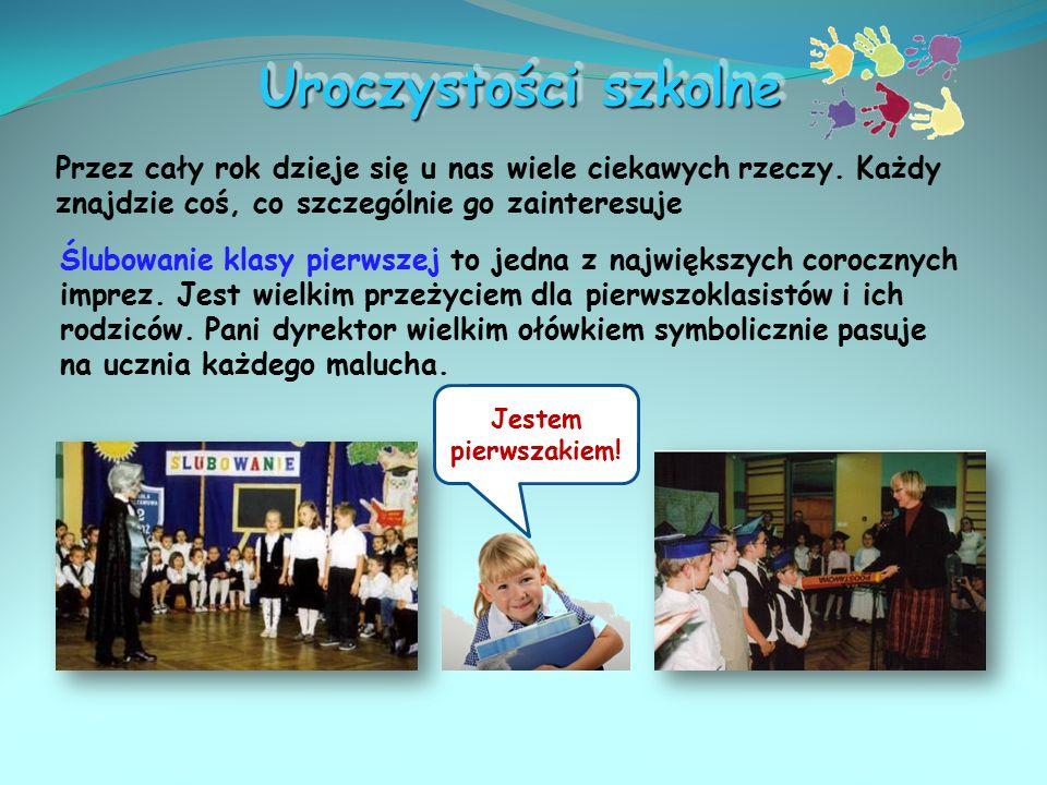 Zajęcia komputerowe W roku szkolnym 2008/2009 rozpoczęły się zajęcia z informatyki w nowej pracowni komputerowej. Mamy 10 stanowisk z nowymi komputera