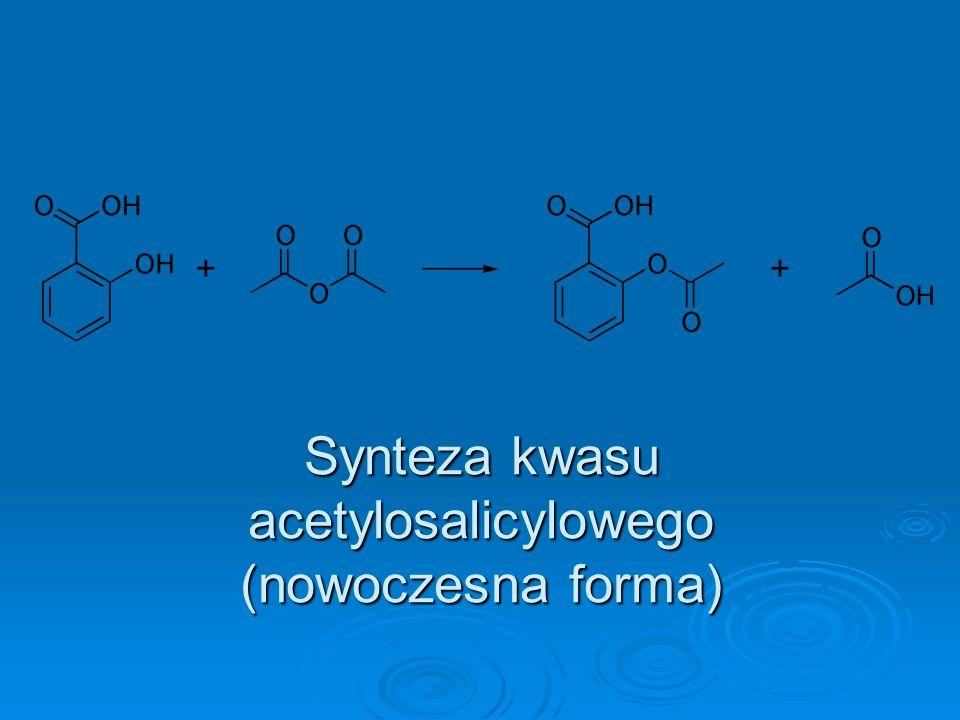 Synteza kwasu acetylosalicylowego (nowoczesna forma)