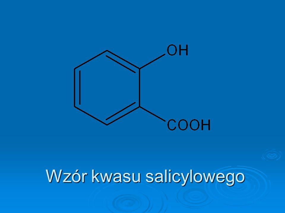 Wzór kwasu salicylowego