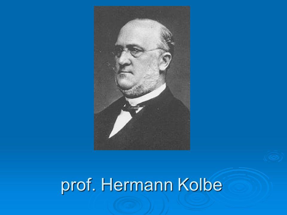 prof. Hermann Kolbe