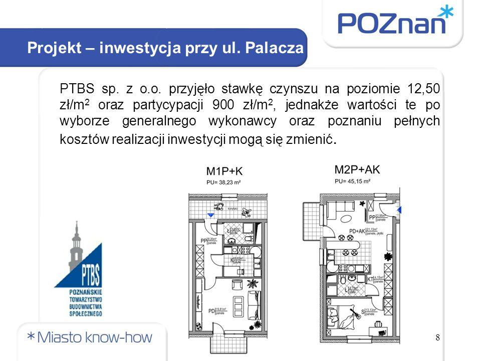 8 Projekt – inwestycja przy ul. Palacza PTBS sp. z o.o.