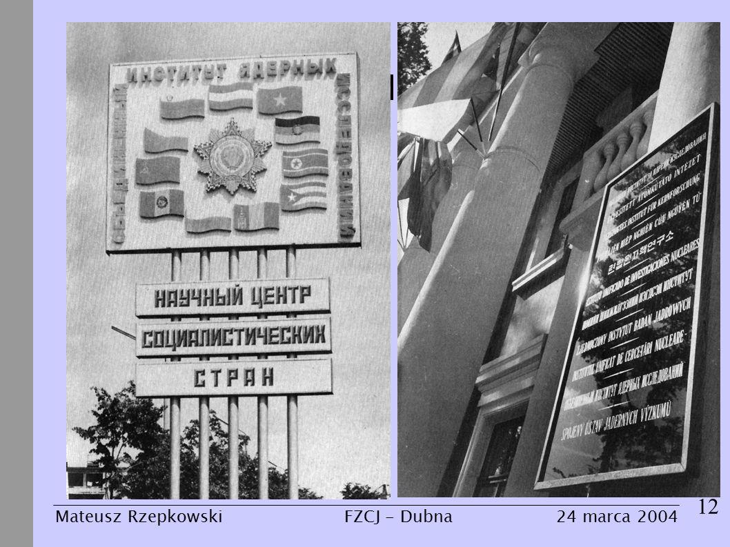 Z mroku dziejów 12 Mateusz Rzepkowski24 marca 2004FZCJ - Dubna