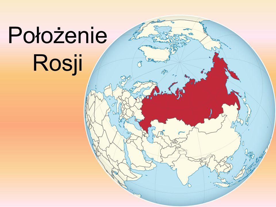 Położenie Rosji