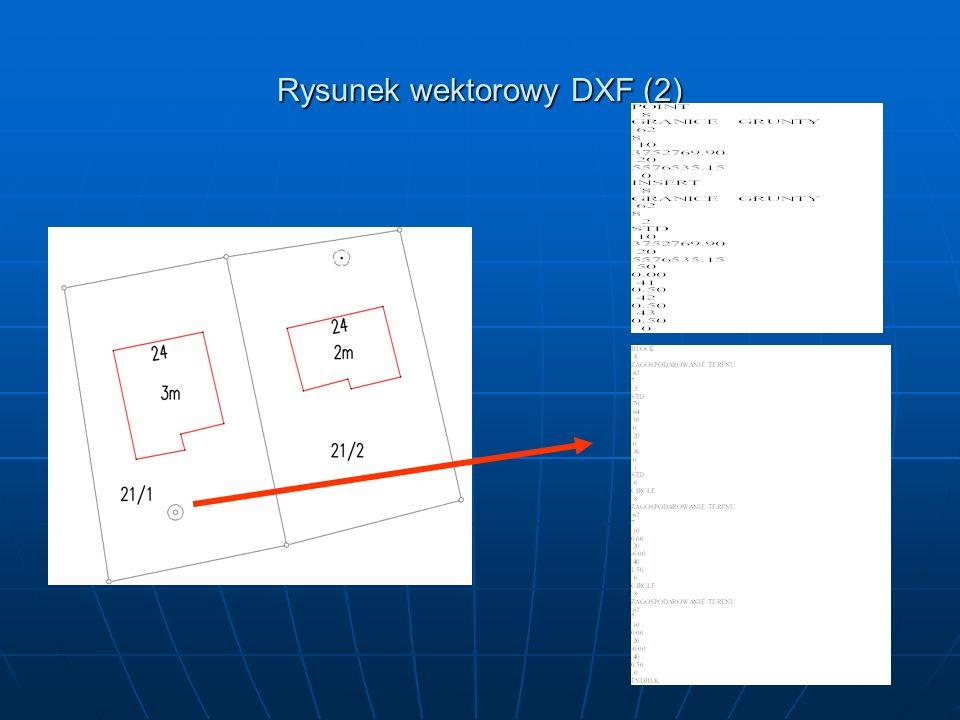 Rysunek wektorowy DXF (2)