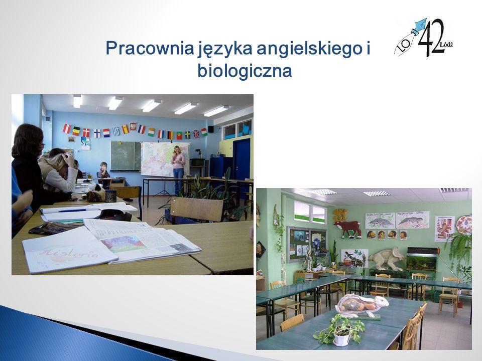 Pracownia języka angielskiego i biologiczna