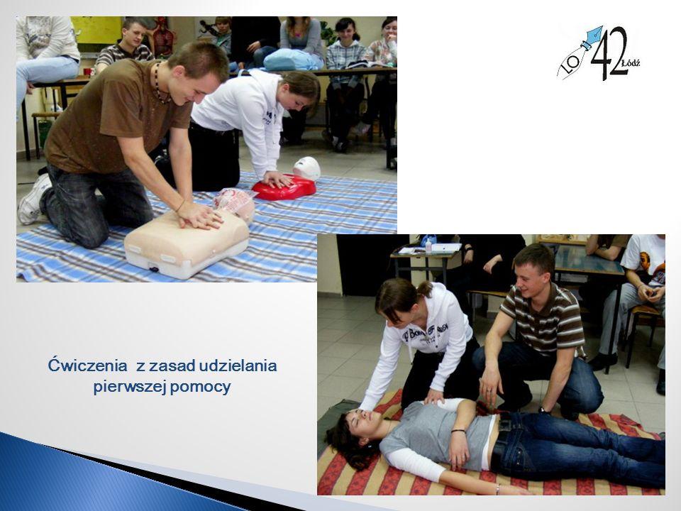 Ćwiczenia z zasad udzielania pierwszej pomocy