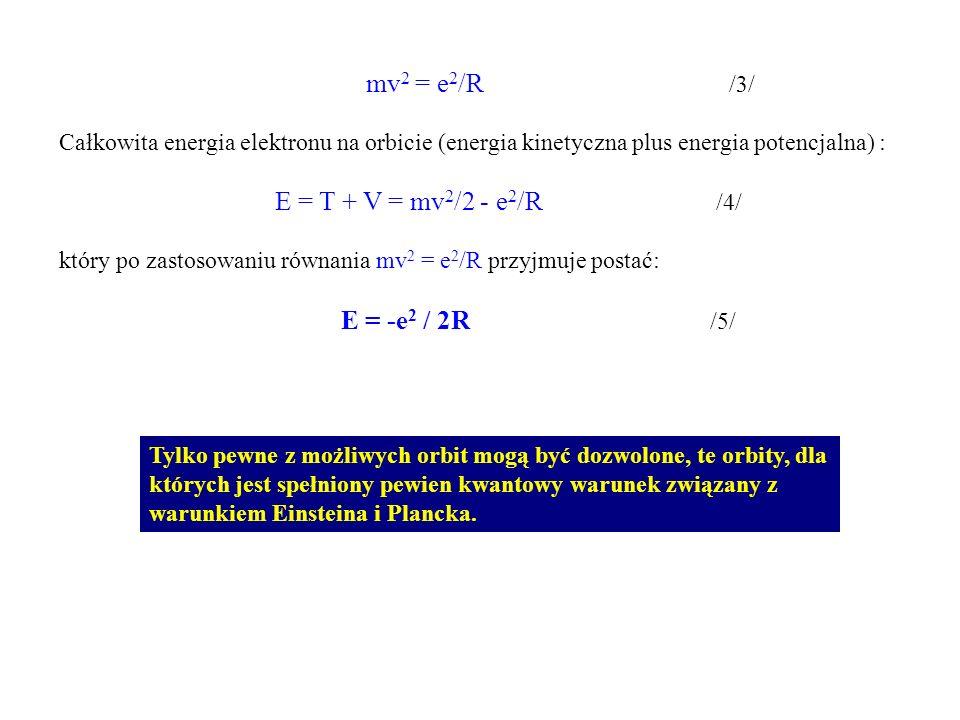 Zarówno Planck jak i Einstein założyli, że światło o określonej częstotliwości nie jest emitowane ani absorbowane przez materię w dowolnie małych ilościach, lecz tylko w postaci kwantów energii E = h *.