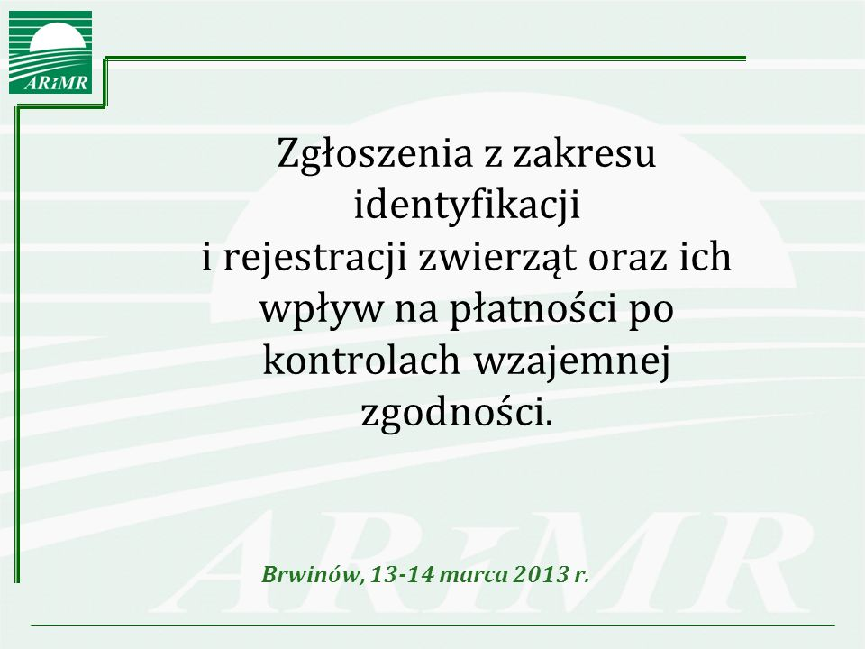 Brwinów, 13-14 marca 2013 r.