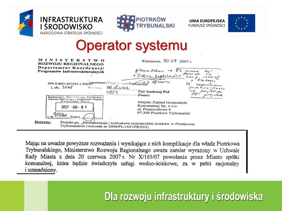 Operator systemu