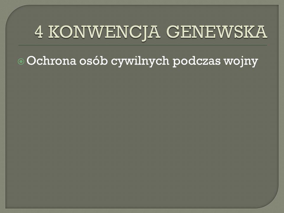  1997rok  Ochrona ofiar mi ę dzynarodowych i niemi ę dzynarodowych konfliktów zbrojnych.