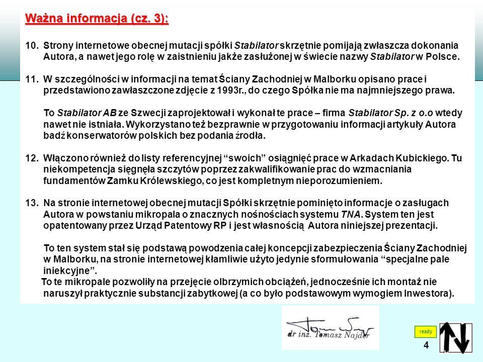 4 ready Ważna informacja (cz. 3): 10.