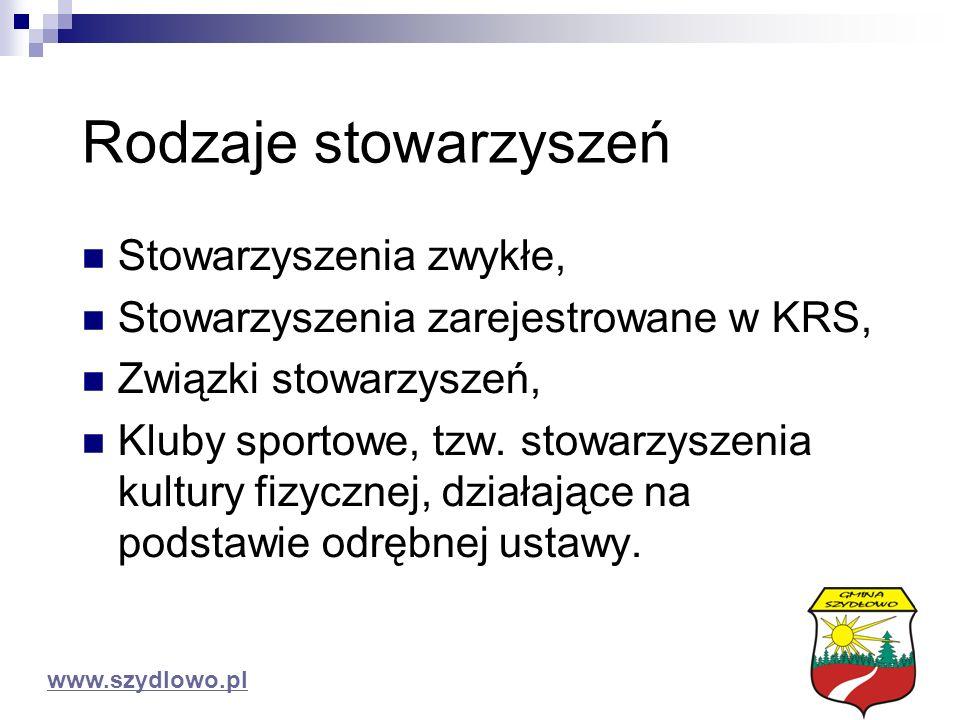 Powodzenia Urząd Gminy Szydłowo 64 – 930 Szydłowo Tel.067-211-55-11 Fax:067-216-12-36 www.szydlowo.pl urzad@szydlowo.pl ZAPRASZAMY